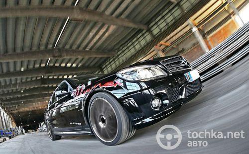 Wimmer RS Mercedes-Benz C63 AMG можно разогнать до 305 км/ч