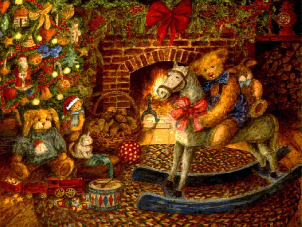 Праздники открытки на новый год 2012