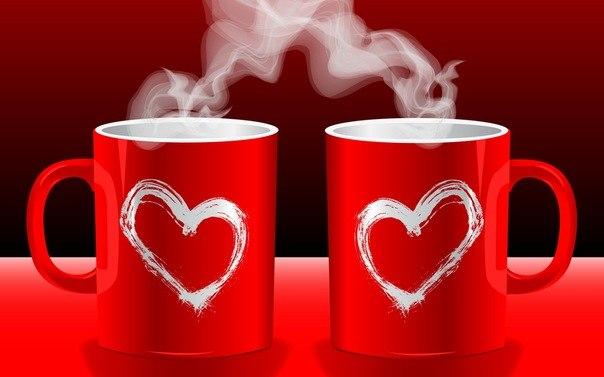 Открытки любовь горячая любовь