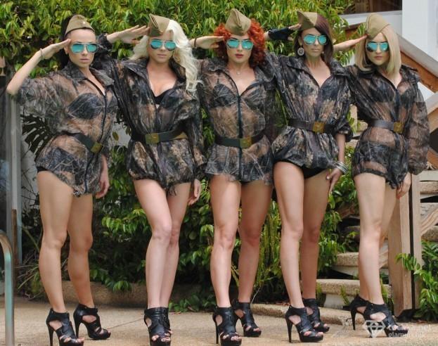 Армия группа фото голые