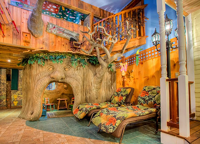 Treehouse Suite, Adventure Suites, Нью-Гемпшир, США