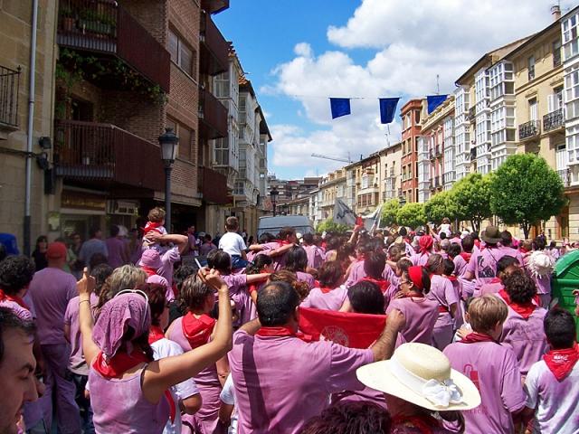 Batalla del Vino, Испания