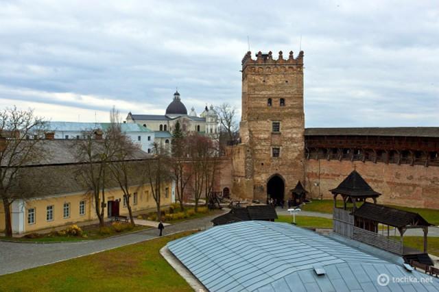 Самые красивые замки, дворцы и крепости Украины - Луцкий Верхний замок