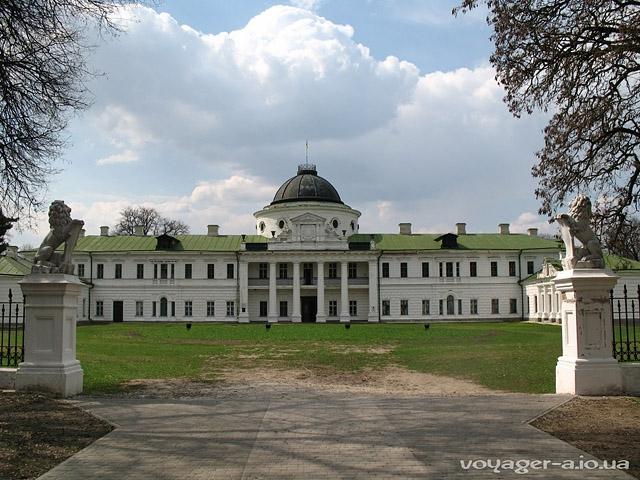 Самые красивые замки, дворцы и крепости Украины - дворец в Качановке