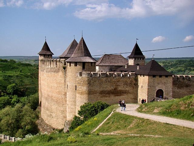 Самые красивые замки, дворцы и крепости Украины - Хотинская крепость