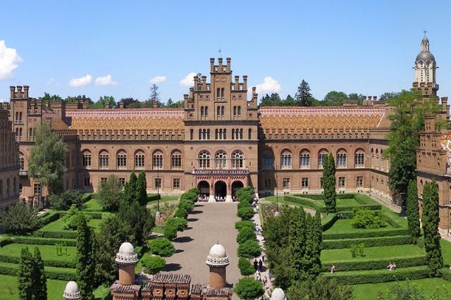 Самые красивые замки, дворцы и крепости Украины - Митрополичий дворец
