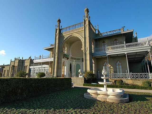 Самые красивые замки, дворцы и крепости Украины - Воронцовский палац