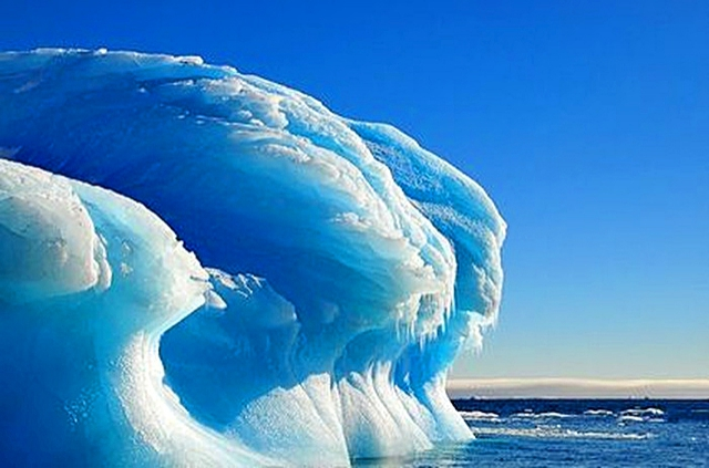 голубой лед что это